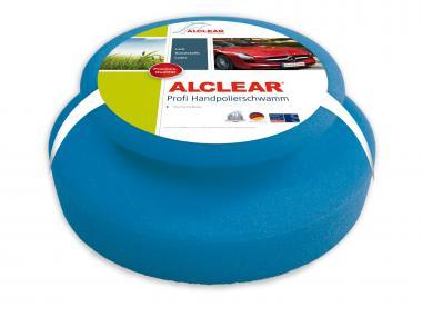 ALCLEAR® Profi HANDPOLIERSCHWAMM blau 13 x 5 cm 5713050M