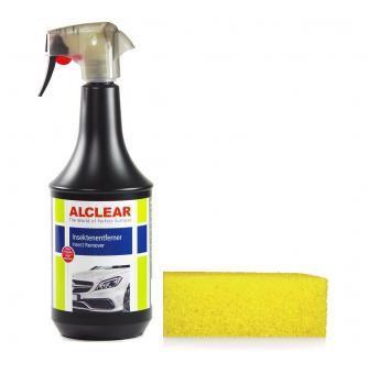 ALCLEAR® Premium Insektenentferner 1000ml und Fliegenschwamm 11x7x4cm 72113IE