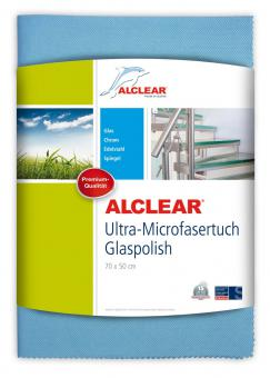 ALCLEAR® Ultra-Microfasertuch GLASPOLISH blau 70 x 50 cm 8200051UM