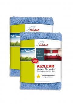 ALCLEAR® 2-er Set KÜCHEN ALLROUNDER blau 40 x 40 cm 820203K