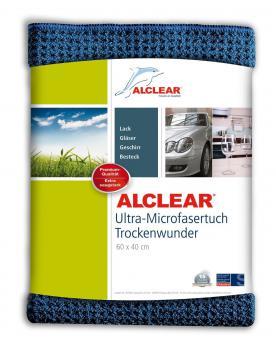 ALCLEAR® Ultra-Microfasertuch TROCKENWUNDER navy 60 x 40 cm 820901