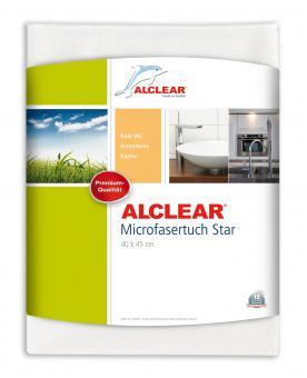 ALCLEAR® Ultra-Microfasertuch STAR weiß 40 x 45 cm 950006