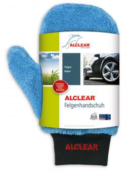 ALCLEAR® Ultra-Microfaser FELGENHANDSCHUH Premium blau 28 x 12 cm 950013