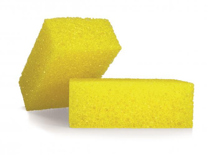 ALCLEAR® Fliegenschwamm Insektenschwamm 11x7x4cm gelb 6080FS