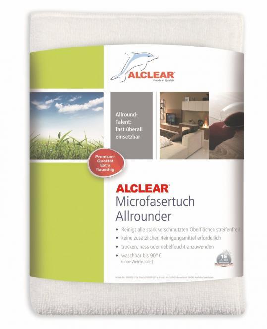 ALCLEAR® Ultra-Microfasertuch ALLROUNDER MAXI weiß 30 x 40 cm 950008